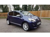 2015 VW Club UP! 5 Door 75PS in Blueberry Blue, Low Mileage, Top Spec. 60+ MPG