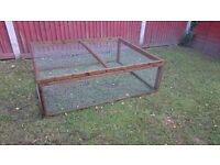 Large rabbit run for chickens / guineapigs / rabbits