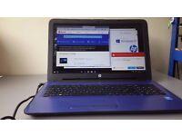 "HP Laptop : Blue (15-AC123NA) - 15.6"" Display, 1.9GHz, Intel Pentium 3825U, 12GB RAM, 2TB HDD"
