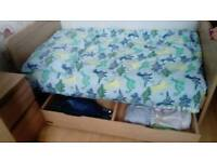 Mama and Papas Under bed Cot Storage