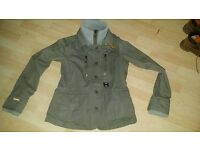 Genuine womens superdry rifleman blazer jacket size XL