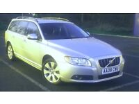 Volvo V70 D5 T6 2.5 Auto Fully Loaded, FSH, Low mileage, 8 MONTHS MOT AND 4 MONTHS TAX, GOOD COND