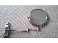 Wallmounted mirror