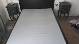 Bed matress and 2 closet