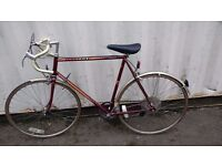 RACING VINTAGE RACER PEUGEOT RACING BIKE 103 CARBOLITE 10 SPEED 700 CC WHEELS AVAILABLE FOR SALE