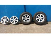 nissan navara /pathfinder 2005 -2014 wheels tyres 4x4