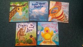 Collection of childrens books.