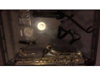 Beginners saxophone set