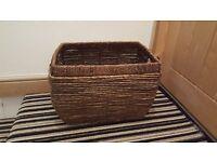fire log basket