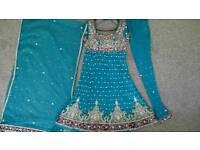 Blingy Asian Anarkali Dress