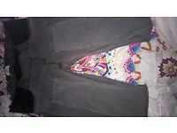 maternity jeans charchol black/grey size 32 waist from new look