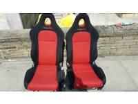 Honda civic type r ep3 bucket seats any px fn2 vtech
