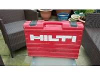 Empty Hilti drill / power tool box.