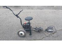 Electric golf cart. Frazer foldaway