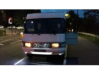 for sale or swap Hymer twin wheel base motor home