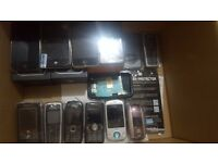 Iphone 4, 3gs x2, ipods spares and repair job lot
