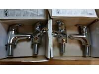 Bath and basin taps