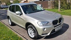 2012 BMW X3 XDRIVE 20D SE AUTO LIKE NEW EXCELLENT CONDITION VERY CLEAN SILVER DIESEL