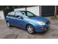 Ford focus low mileage 44k 1 owner from new Mot in good condition