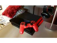 PS4 & Controller (fully working - comes with all cables)