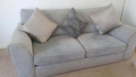 Silver grey suite