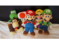 ORIGINAL NINTENDO COLLECTABLE TEDDY'S IN MINT CONDITION FOR SALE