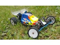 ASSOCIATED RC10 B4 1/10 SCALE RC ELECTRIC 2WD BUGGY,LIPO,FAST,BRUSHED,DEX210,CAR