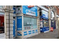 GROUND & BASEMENT LEASE FOR SALE ON COMMERCIAL RD E1