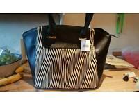 Black handbag (unwanted Christmas present)