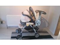 Graco buggy and car seat