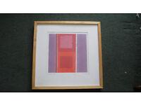 "Framed Print ""Cubic Heat"" by Amaina"