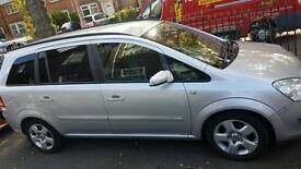 Vauxhall zafira 08 BARGAIN FSH LADY owner 7 seater LOW MILES