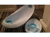 Baby bath and bowl