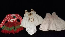 Three Dresses 6-9 months