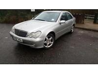 2001 (Y)Mercedes-Benz C Class 2.0 C180 Avantgarde 4dr FULL SERVICE HISTORY MOST BY MAINDEALER