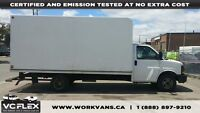 2012 Chevrolet Express G3500 - 16Ft Unicell Box - V8 Gas