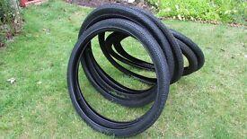 New Bicycle Tyres 26 x 1.75 with tubes. Kenda.