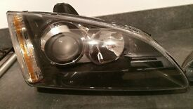 Super Rare Genuine Focus Mk2 Black Adaptive projector Headlights with HID Conversion