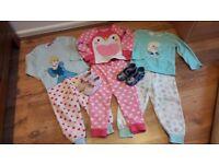 3-4years girls pyjamas