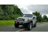 JEEP WRANGLER 2.8 CRD SPORT UNLIMITED SILVER 4x4