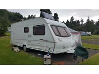 2007 ACE Jubilee Courier - 6 Berth Caravan With Pullman Awning