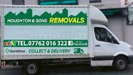 Man & van removals local & national - single items to full house moves