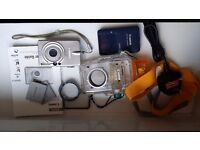 Canon Digital Camera with Underwater Housing & accessorises