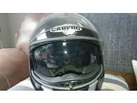 Cerberg justissimo gt flip up motorcycle helmet