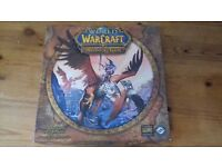 A board game from the amazingly populare World of Warcraft online game.