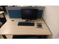 PC Starter Pack - PC, Monitor, Keyboard, Mouse and Chair + EXTRAS