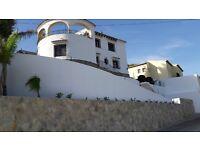hollyday villa costa blanca spain regio moraira max 6pers.