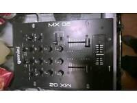 Gemini MX 02 mixer