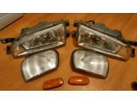 Genuine Subaru Crystal headlights