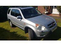 Honda CRV 2003, Petrol, Auto, Serviced, Long MOT